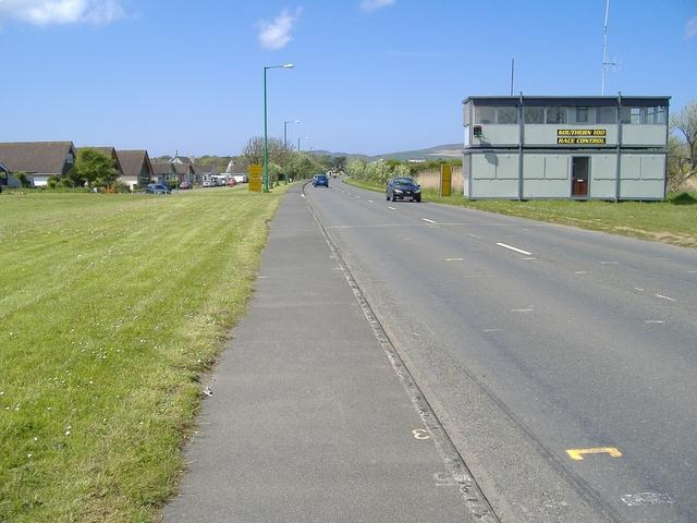 A 5 road, Castletown