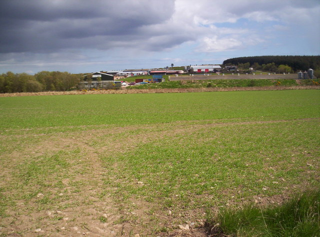 Looking Towards Coneyhatch From B979