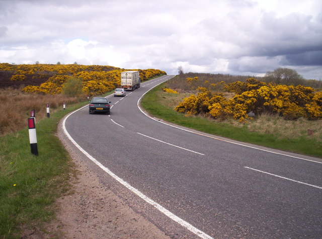 B979 Stonehaven to Peterculter Road