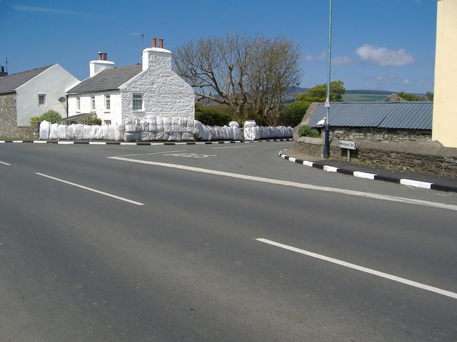 A 5 - A 28 junction, Ballakeighan