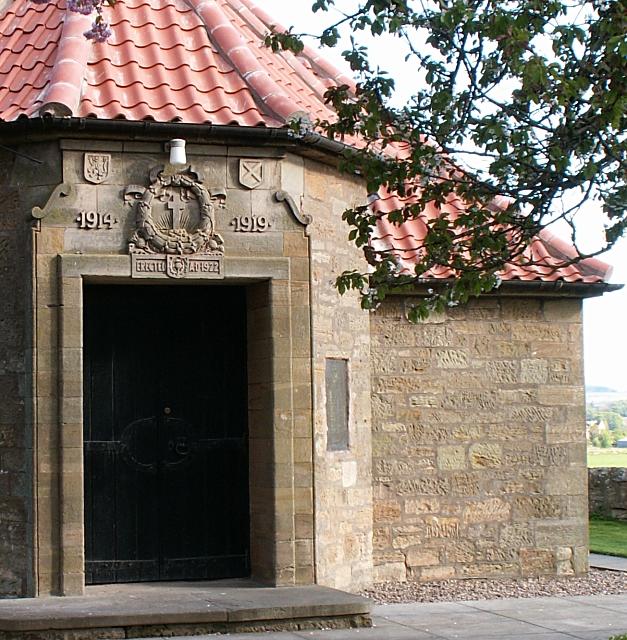 Dairsie village hall, detail