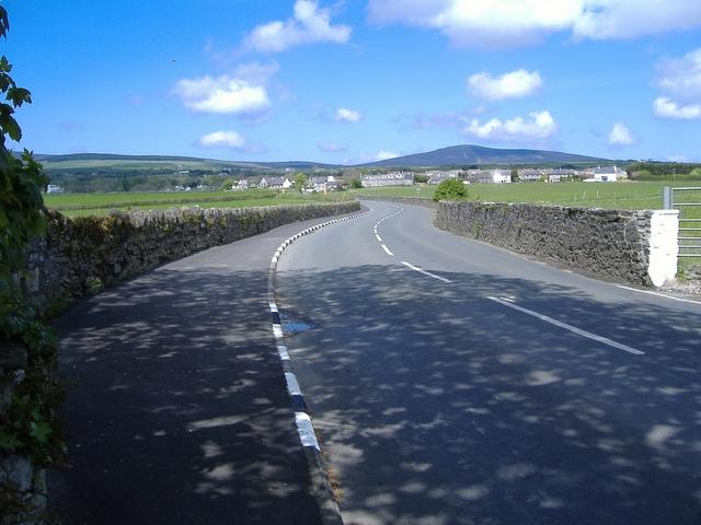 Bends through Ballanorris, near Ballabeg