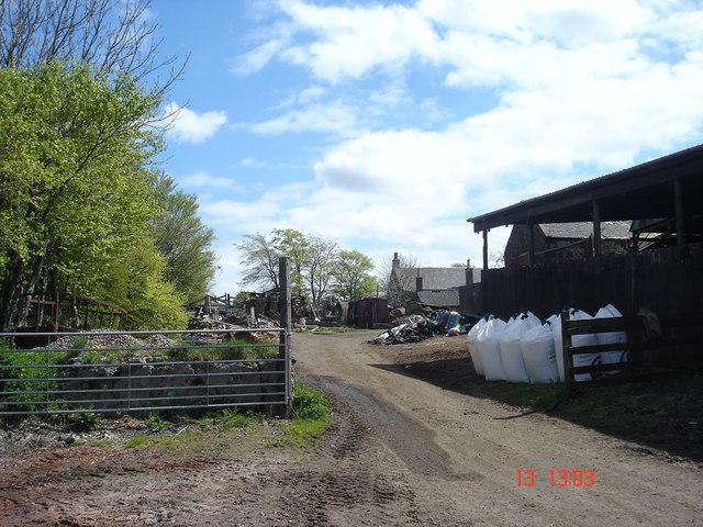 Heights Farm north of Blackridge