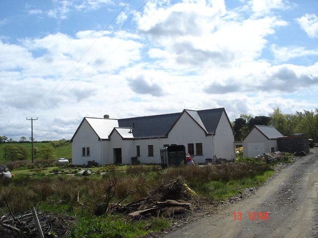 New House near Linhouse Farm ,Avonbridge