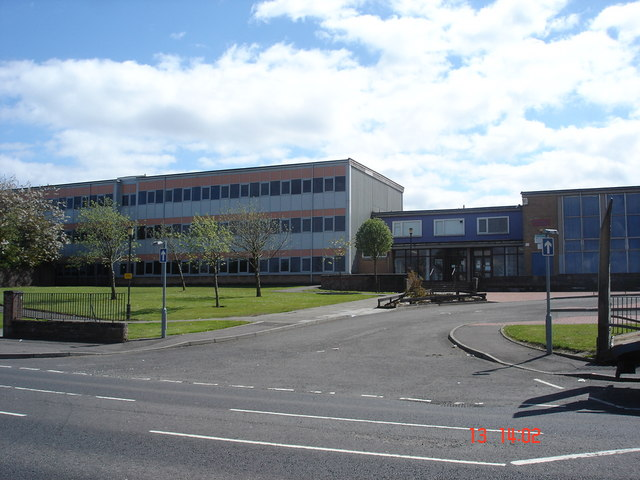 Armadale Academy on western edge of Armadale