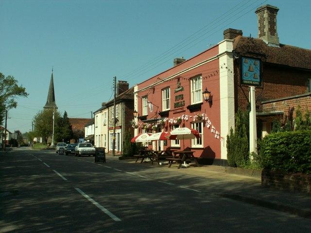'Five Bells' inn, Great Cornard, Suffolk