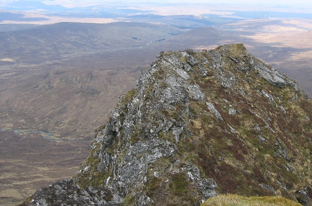 Northern top of An Sgurr.