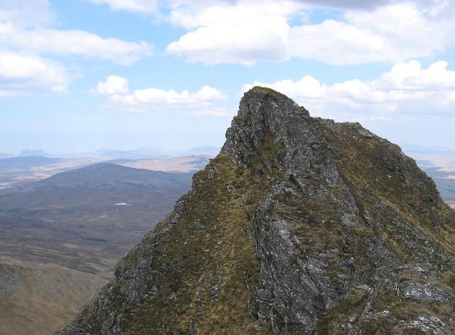 Summit of An Sgurr.