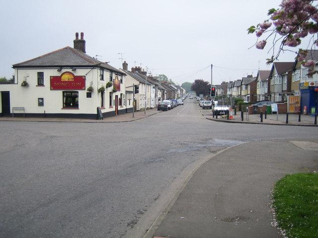 Slip End: Front Street