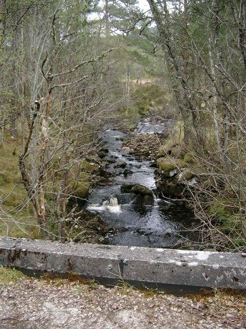 Bridge over the Allt an Laghair