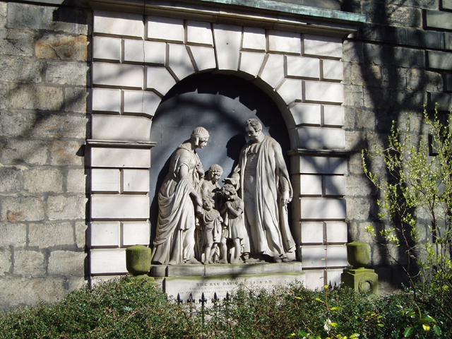 Memorial to Reverend David Dickson, St Cuthberts Churchyard, Edinburgh
