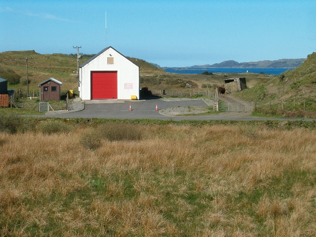Isle of Luing Fire Station