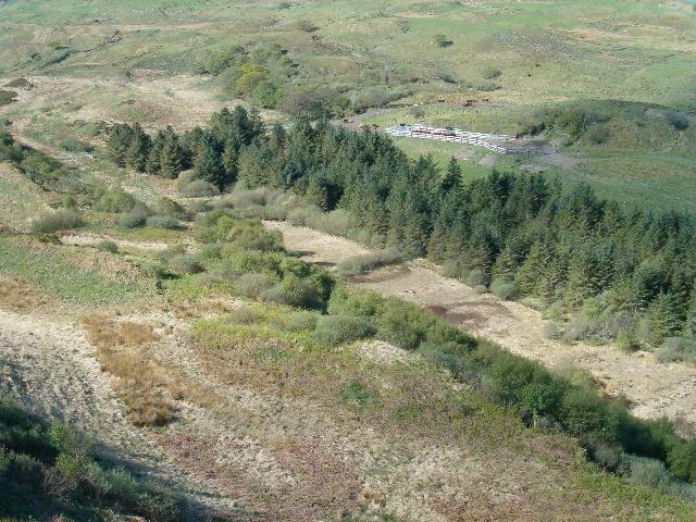View southwest from Binnein Furachail