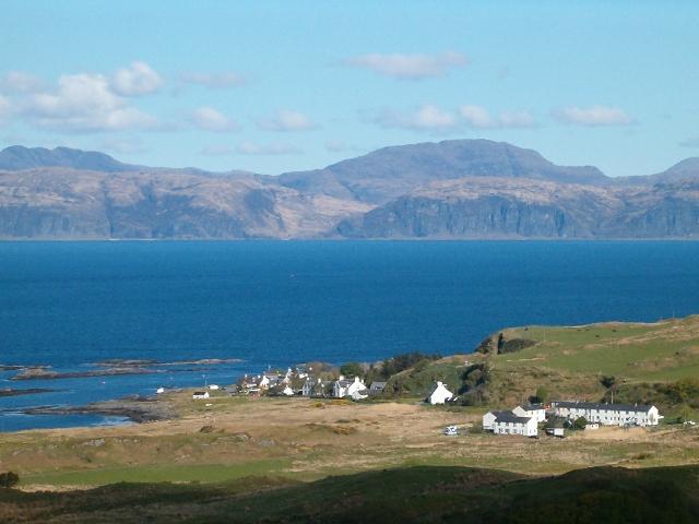 A view towards Fladda