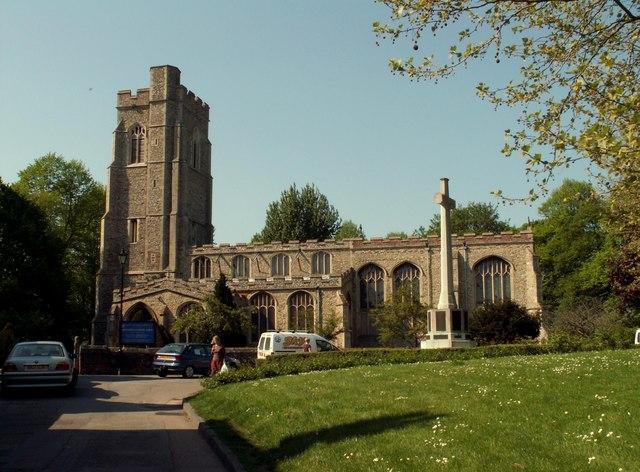 St. Gregory's church, Sudbury, Suffolk