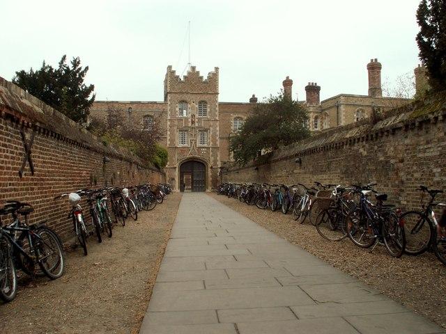 Gatehouse at Jesus College, Cambridge