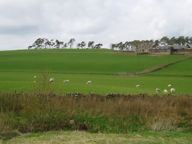 South Lanarkshire farmland