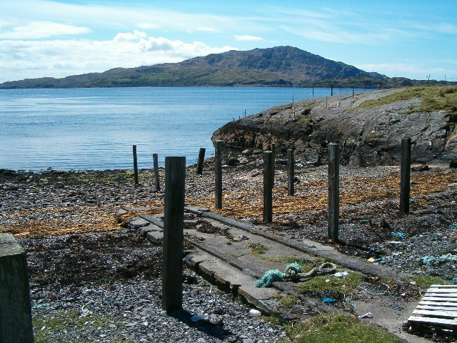 Ruined jetty
