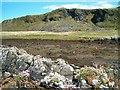 NM7310 : Disused slate quarry by Patrick Mackie