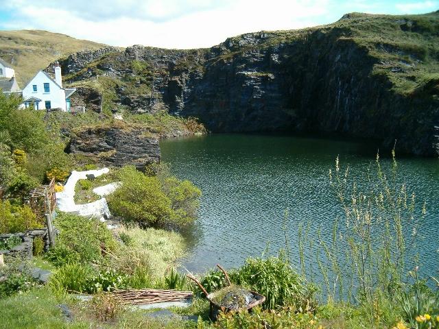 Slate quarry at Cullipool
