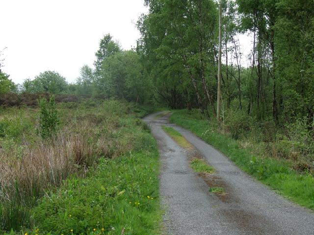 Track near to Llandegfan