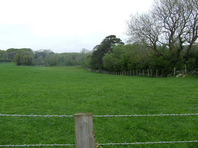 Field near to the old village of Llandegfan
