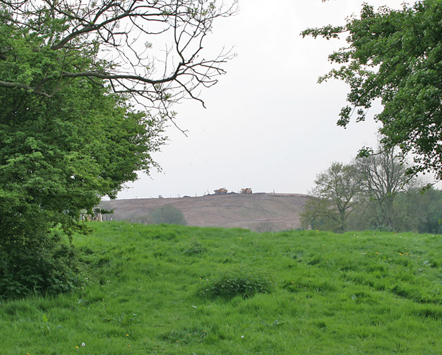 View of Huncote Land-fill Site