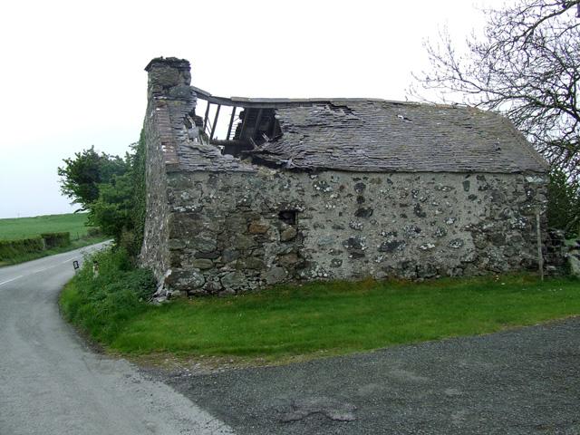 Derelict Building alongside the road
