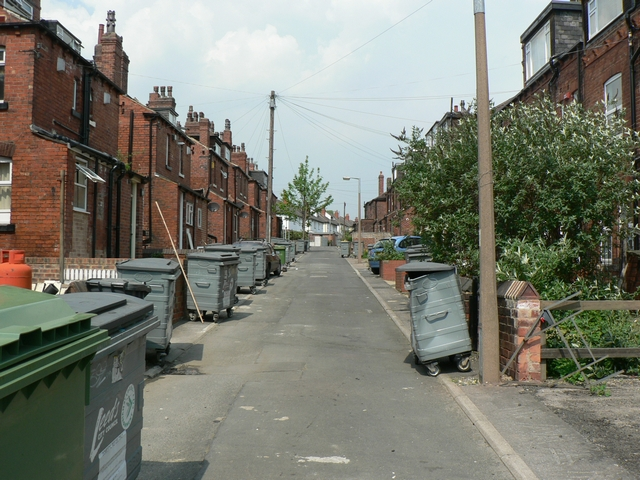 Backs of Estcourt Terrace and Estcourt Avenue, Headingley