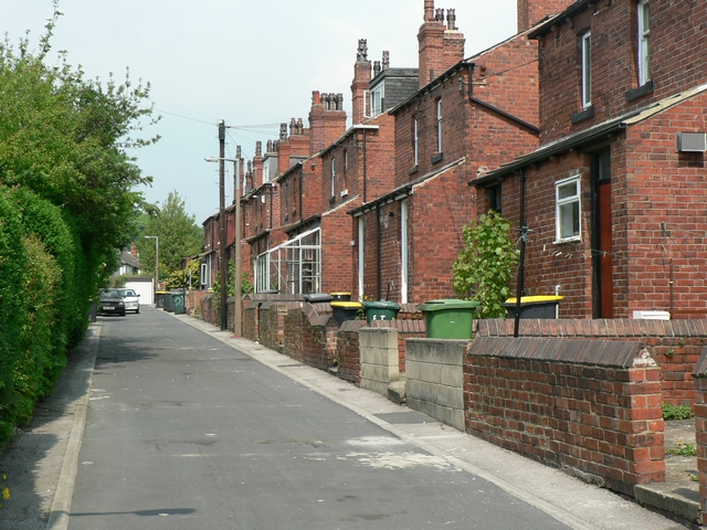 Back Estcourt Terrace, Headingley