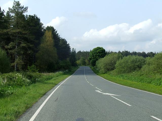 A 4080 road outside Newborough