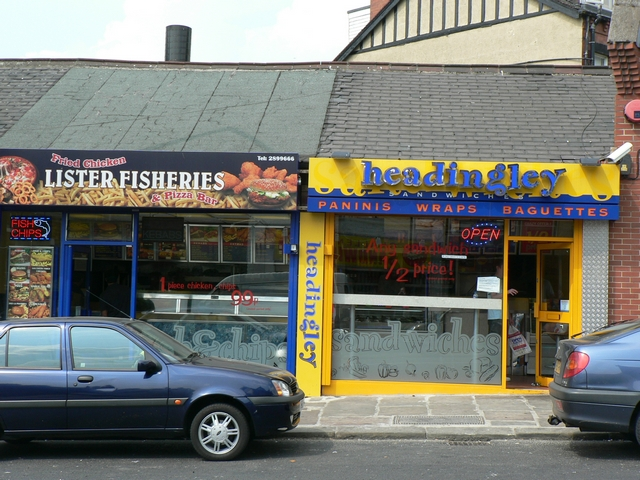 Lister Fisheries, 54a North Lane, Headingley