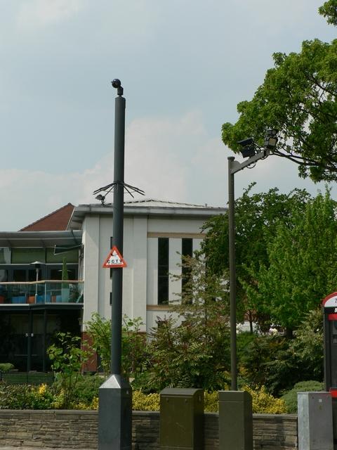 CCTV cameras, North Lane, Headingley