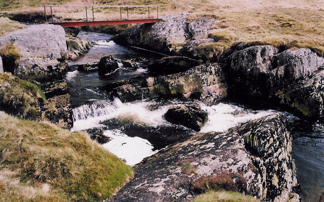 Footbridge over the Afon Hengwm