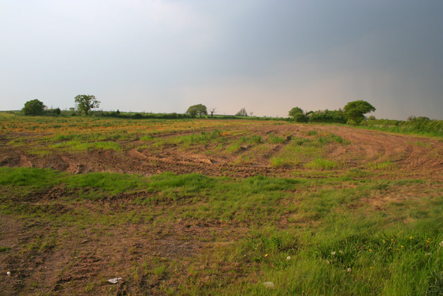 Farmland near Thurlaston, Leicestershire