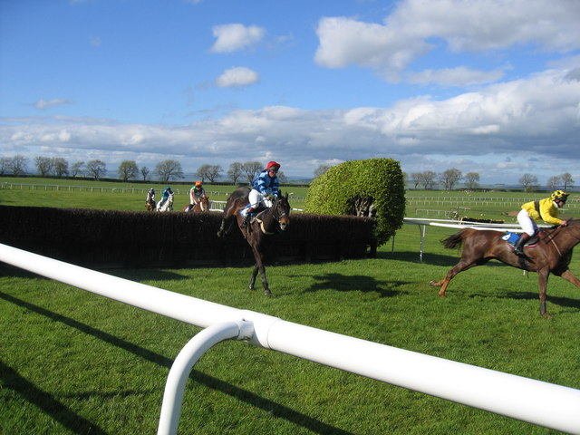 Spring meeting at Hexham Racecourse