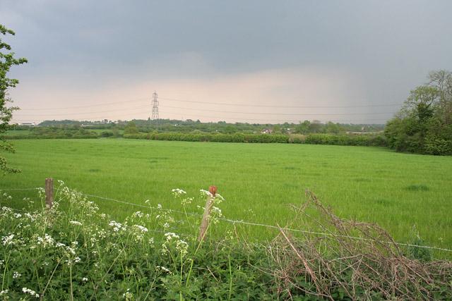 Farmland near Enderby, Leicestershire