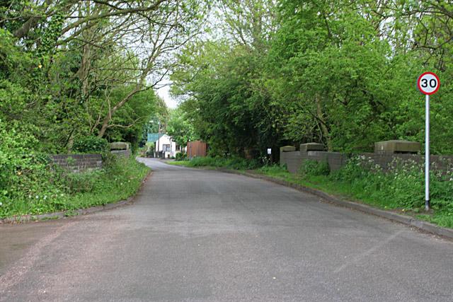 Seine Lane, Enderby