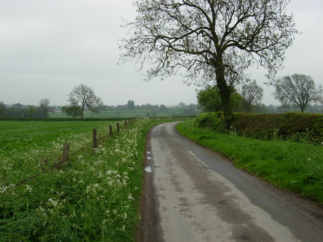 Lane near Willoughby Waterleys