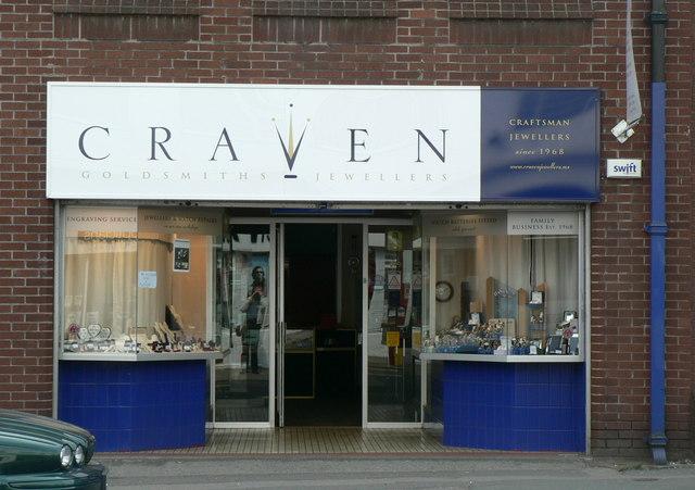 Craven Jewellers, 11b North Lane, Headingley