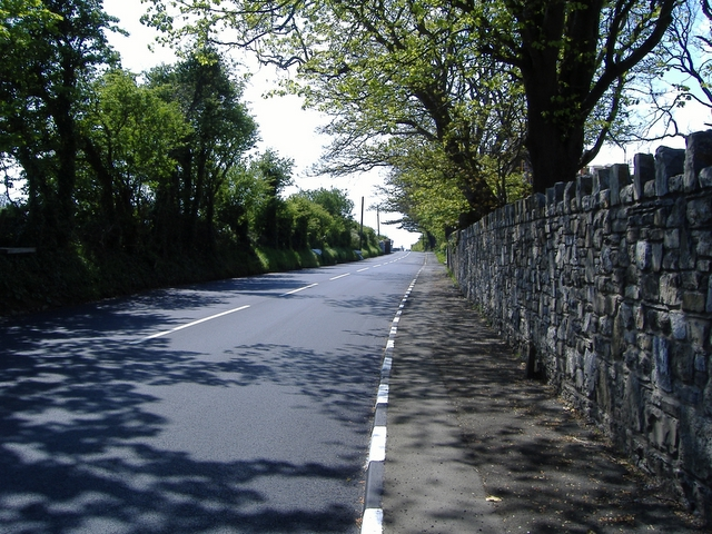 The A 3 road at Great Meadow