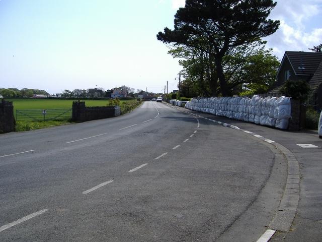 Stadium Corner on the A 3 road