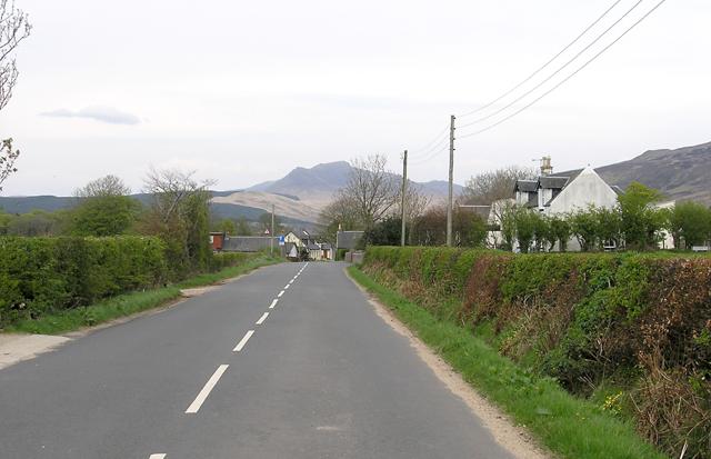 Birchburn and towards Shiskine, Arran