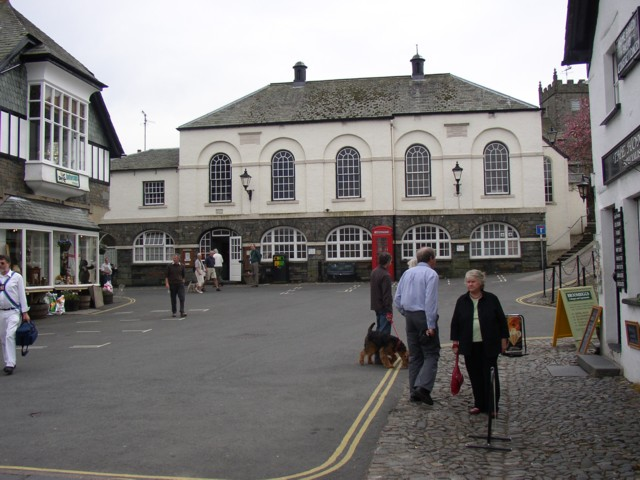 Main Square and Town Hall, Hawkshead