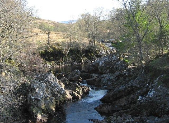Corriemulzie River / Abhainn Dubhag