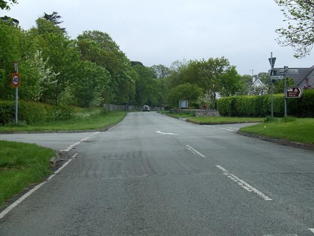 Crossroads on the B5109
