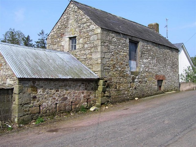 Ireland Stone Building : Stone building at cullenbrone kenneth allen geograph