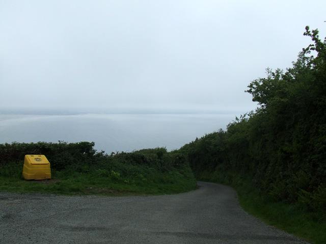 Lon Goch near to Llanddona