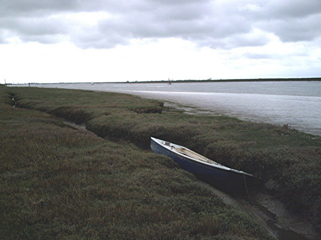 Boat on saltings