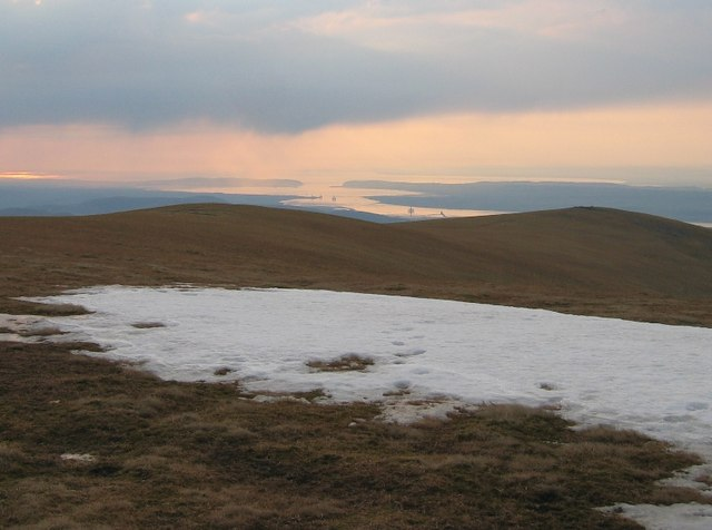 Eastern ridge, Ben Wyvis.